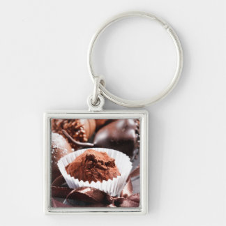 Chocolate truffles keychain