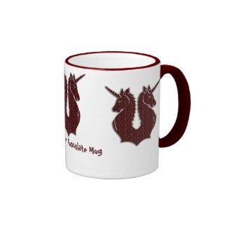 Chocolate Unicorns bedtime drinks mug