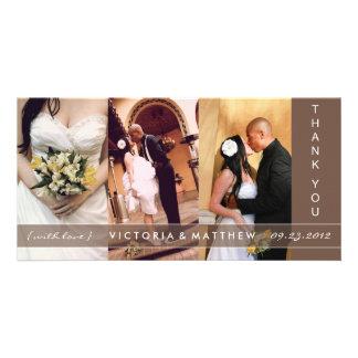CHOCOLATE UNION | WEDDING THANK YOU CARD