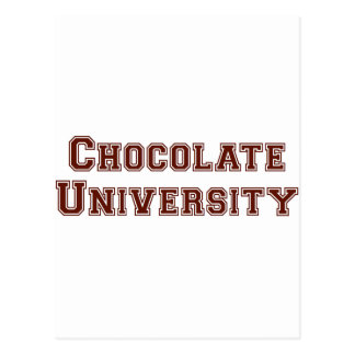 Chocolate University Postcard