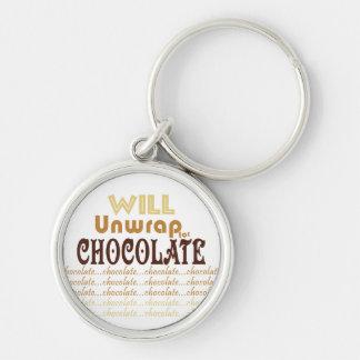 Chocolate Unwrap Keychain