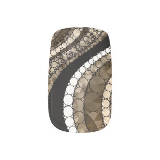 Chocolate& Vanilla Bling Minx Minx® Nail Art