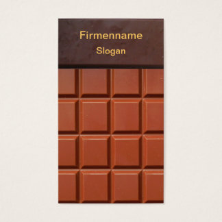 Chocolate - visiting card collecting main