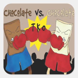 Chocolate VS. Chocolate TKO Sticker