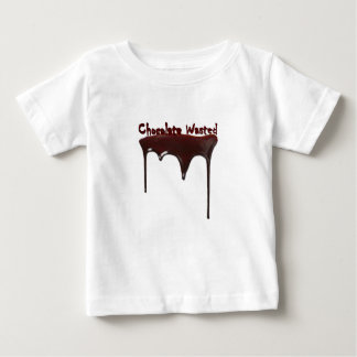 Chocolate Wasted Baby T-Shirt