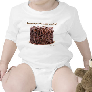 Chocolate Wasted Cake Infant Creeper