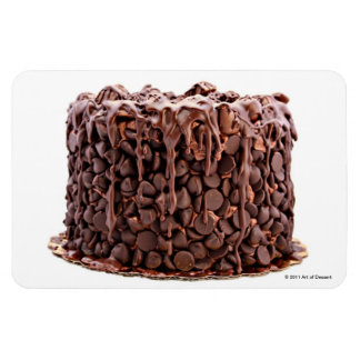 Chocolate Wasted Cake magnet