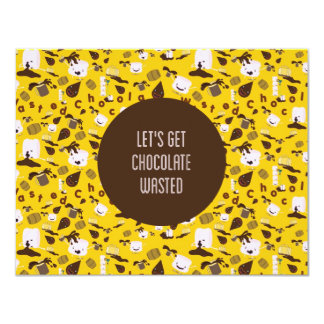 Chocolate Wasted Card