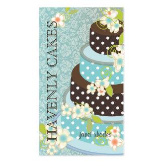 Chocolate Wedding Cake/Bakery/pâtisserie Business Card Templates
