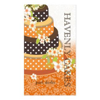 Chocolate Wedding Cake/Bakery/pâtisserie Business Cards
