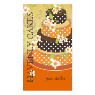 Chocolate Wedding Cake/Bakery/pâtisserie Business Card