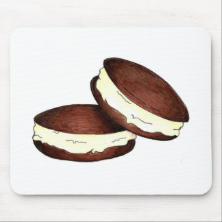 Chocolate Whoopie Pie Pies Dessert Mouse Pad