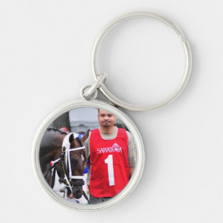 Chocolate Wildcat in the 100th Sanford Stakes Keychain