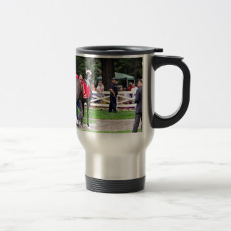 Chocolate Wildcat in the 100th Sanford Stakes 15 Oz Stainless Steel Travel Mug