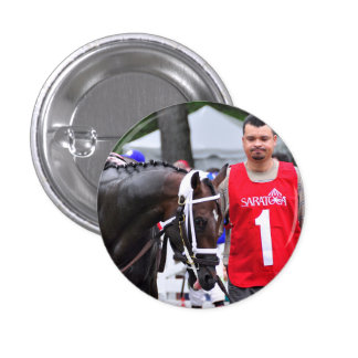 Chocolate Wildcat in the 100th Sanford Stakes Pinback Button