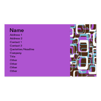 Chocolate Wine Double-Sided Standard Business Cards (Pack Of 100)