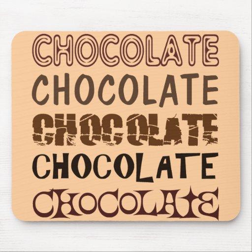 CHOCOLATE X 5 MOUSEPADS
