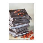 Chocolate y chile impresión de lienzo