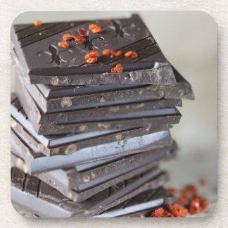 Chocolate y chile posavaso