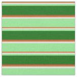 [ Thumbnail: Chocolate, Yellow, Light Green, Dark Green & Brown Fabric ]