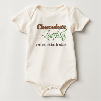 Chocolate & Zucchini Baby Shirt