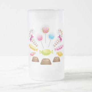 Chocolatec Frosted Glass Beer Mug