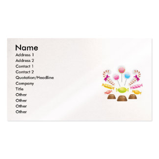 Chocolatec, Name, Address 1, Address 2, Contact... Business Card