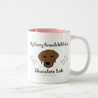 ChocolateLab Two-Tone Coffee Mug