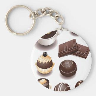 Chocolates2 Keychain