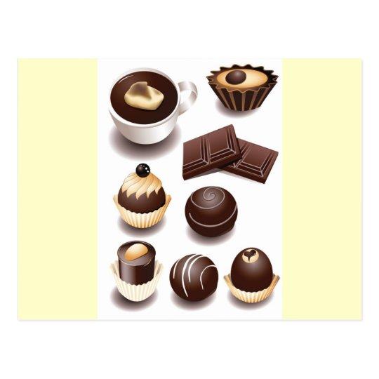 Chocolates2 Postcard