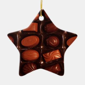 Chocolates Adorno Navideño De Cerámica En Forma De Estrella