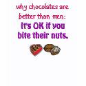 Chocolates better than men shirt