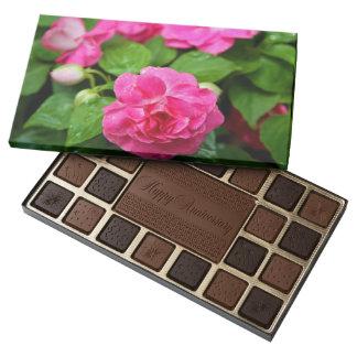 Chocolates - boleto caliente caja de bombones variados con 45 piezas