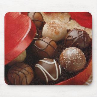 Chocolates de la caja O Alfombrillas De Ratón