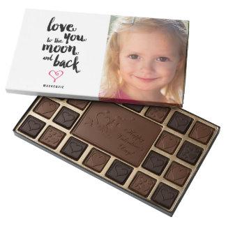 Chocolates de la foto del el día de San Valentín Caja De Bombones Variados Con 45 Piezas