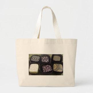 Chocolates de lujo bolsa lienzo