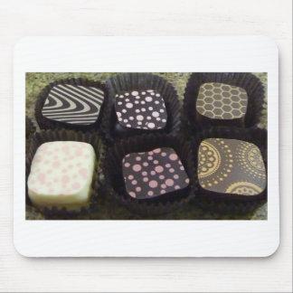 Chocolates de lujo mousepad