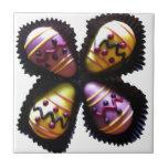 Chocolates del huevo de Pascua Teja Ceramica
