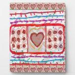 Chocolates dulces del amor n: EMBROMA arte Placas De Plastico