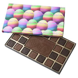 Chocolates felices coloridos de Pascua de los Caja De Bombones Variados Con 45 Piezas