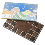 Chocolates felices del regalo de Pascua