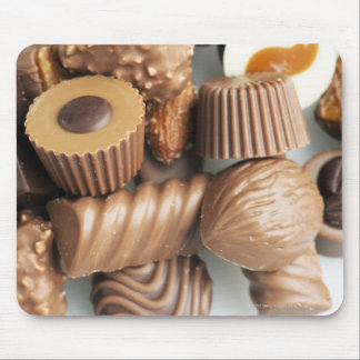 chocolates mouse pad