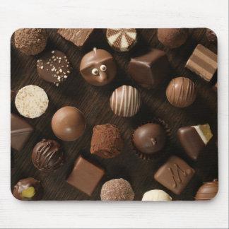chocolates! mouse pad
