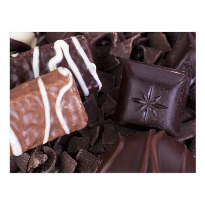 Chocolates Postcard