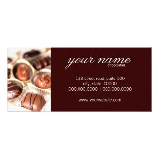 Chocolates Rack Cards