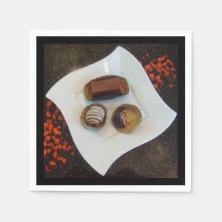 Chocolates - Scrumptious Sweets from Peru Napkin