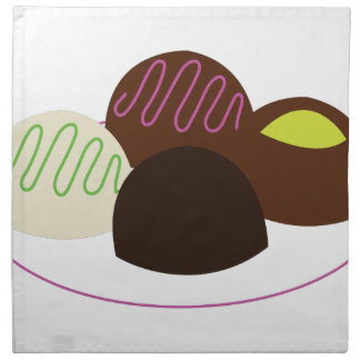 Chocolates Servilleta De Papel