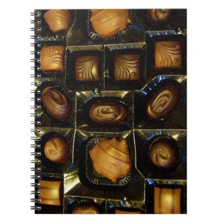 Chocolates Spiral Notebook