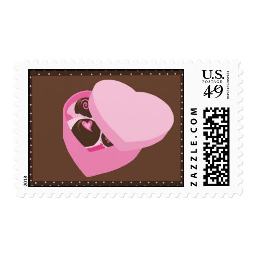 Chocolates Timbres Postales