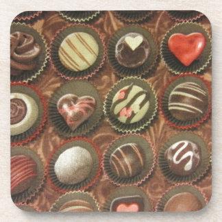 Chocolates & Truffles Beverage Coaster
